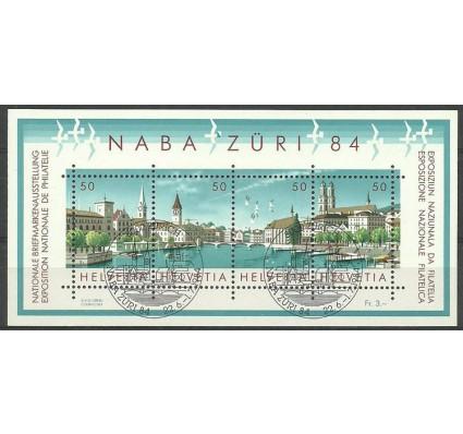 Znaczek Szwajcaria 1984 Mi bl 24 Stemplowane