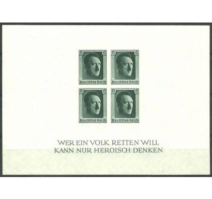 Znaczek Deutsches Reich / III Rzesza 1937 Mi bl 8 Czyste **