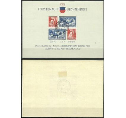 Znaczek Liechtenstein 1936 Mi bl 2 Stemplowane