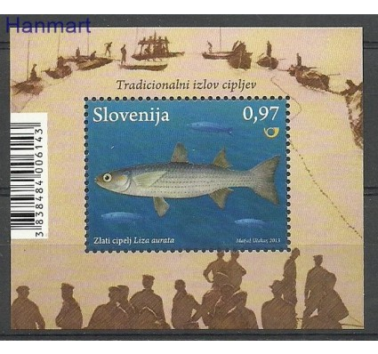 Znaczek Słowenia 2013 Mi bl 70 Czyste **