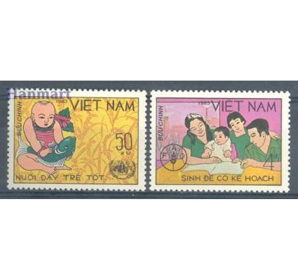 Znaczek Wietnam 1983 Mi 1379-1380 Czyste **