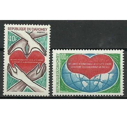 Znaczek Dahomej 1971 Mi 450-451 Czyste **