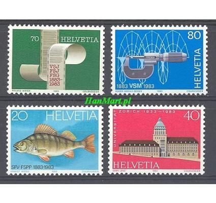 Znaczek Szwajcaria 1983 Mi 1245-1248 Czyste **