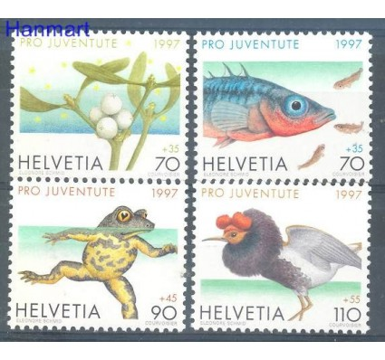 Znaczek Szwajcaria 1997 Mi 1629-1632 Czyste **