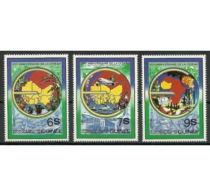 Znaczek Gwinea 1982 Mi 893-895 Czyste **