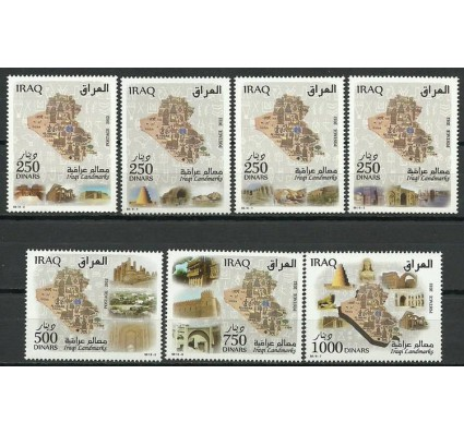 Znaczek Irak 2013 Mi 1899-1905 Czyste **