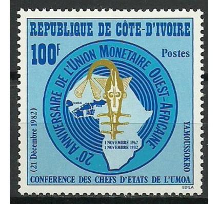 Znaczek Wybrzeże Kości Słoniowej 1982 Mi 762 Czyste **