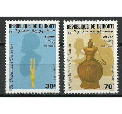 Znaczek Dżibuti 1988 Mi 503-504 Czyste **