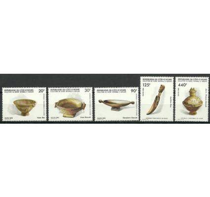 Znaczek Wybrzeże Kości Słoniowej 1985 Mi 897-901 Czyste **