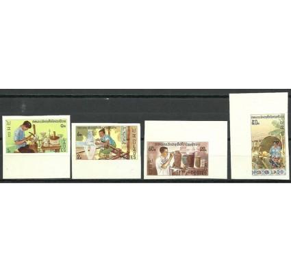Znaczek Laos 1977 Mi 448-451B Czyste **