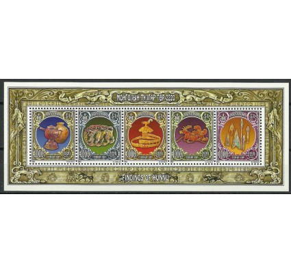 Znaczek Mongolia 2011 Mi bl 394 Czyste **
