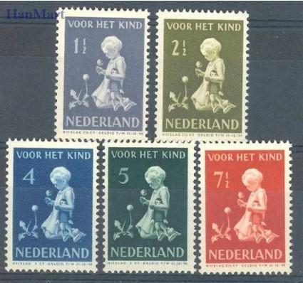 Znaczek Holandia 1940 Mi 375-379 Czyste **