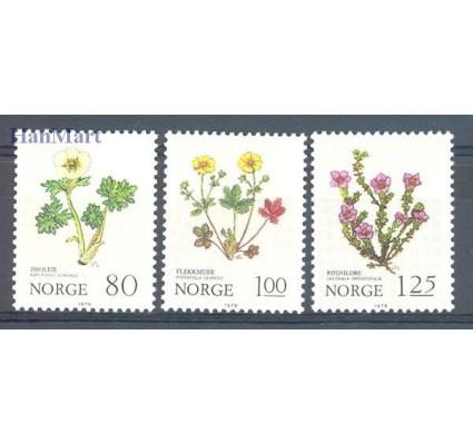 Znaczek Norwegia 1979 Mi 806-808 Czyste **