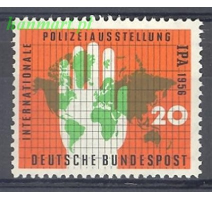 Znaczek Niemcy 1956 Mi 240 Czyste **