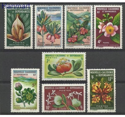 Znaczek Nowa Kaledonia 1964 Mi 394-401 Z podlepką *