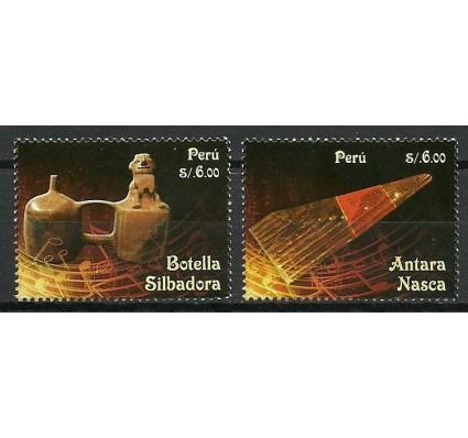 Znaczek Peru 2014 Mi 2678-2679 Czyste **