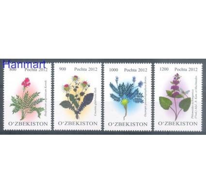 Znaczek Uzbekistan 2012 Mi 1007-1010 Czyste **