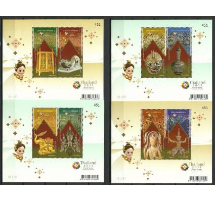 Znaczek Tajlandia 2013 Mi bl 301-304 Czyste **