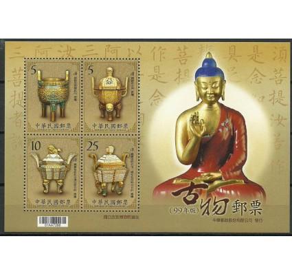 Znaczek Tajwan 2010 Mi bl 158 Czyste **