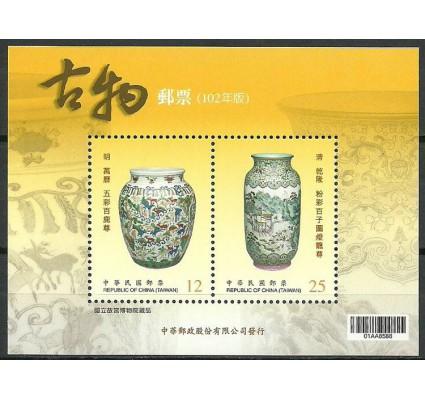 Znaczek Tajwan 2013 Mi bl 179 Czyste **