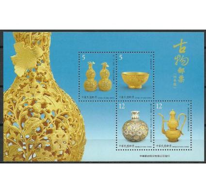 Znaczek Tajwan 2009 Mi bl 150 Czyste **