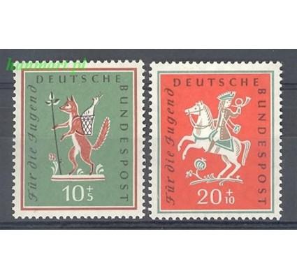 Niemcy 1958 Mi 286-287 Czyste **