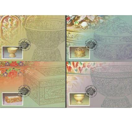 Znaczek Tajlandia 2002 Mi 2145-2148 Karta Max