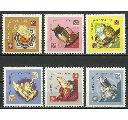 Znaczek Wietnam 1968 Mi 538-543 Czyste **