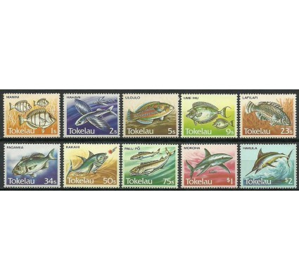 Znaczek Tokelau 1984 Mi 101-110 Czyste **