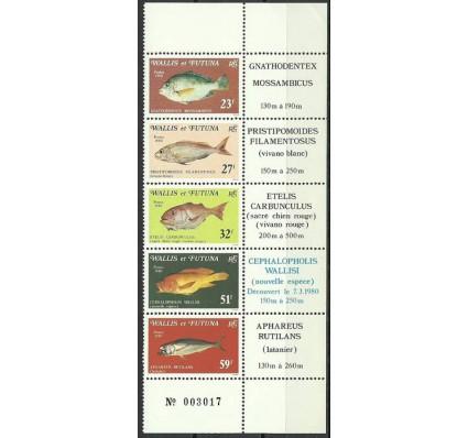 Znaczek Wallis et Futuna 1980 Mi 376-380 Czyste **