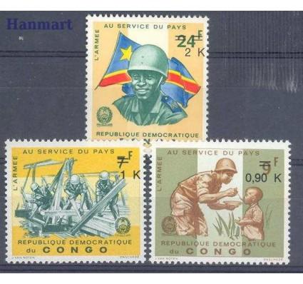 Znaczek Kongo Kinszasa / Zair 1970 Mi 382-384 Czyste **