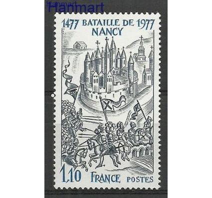 Znaczek Francja 1977 Mi 2038 Czyste **