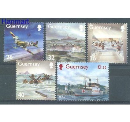Znaczek Guernsey 2004 Mi 1007-1011 Czyste **
