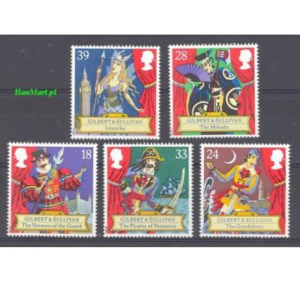 Znaczek Wielka Brytania 1992 Mi 1409-1413 Czyste **