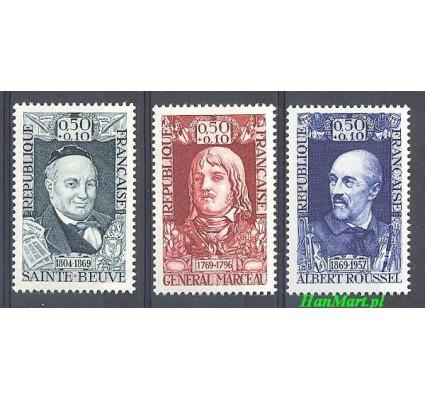 Znaczek Francja 1969 Mi 1660-1662 Czyste **