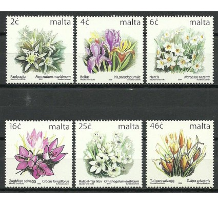 Znaczek Malta 1999 Mi 1099-1104 Czyste **