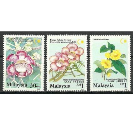 Znaczek Malezja 2002 Mi 1077-1079 Czyste **