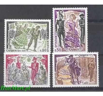 Znaczek Monako 1975 Mi 1170-1173 Czyste **