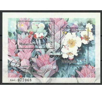 Znaczek Malezja 2002 Mi bl 59 Czyste **