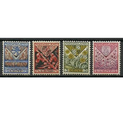 Znaczek Holandia 1927 Mi 201-204 Z podlepką *