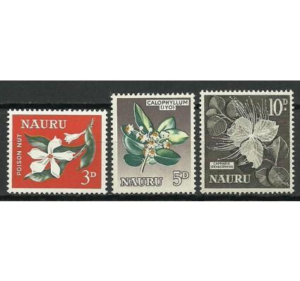 Znaczek Nauru 1963 Mi 39+42+48 Czyste **