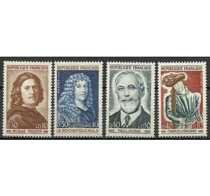 Znaczek Francja 1965 Mi 1500-1503 Czyste **