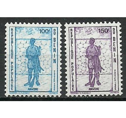 Znaczek Benin 1986 Mi 442-443 Czyste **