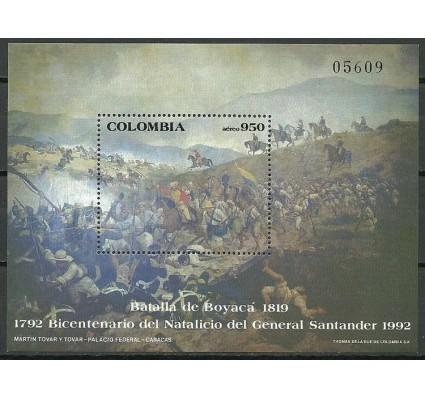 Znaczek Kolumbia 1992 Mi bl 45 Czyste **