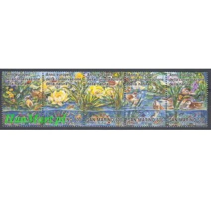 Znaczek San Marino 1995 Mi 1598-1602 Czyste **