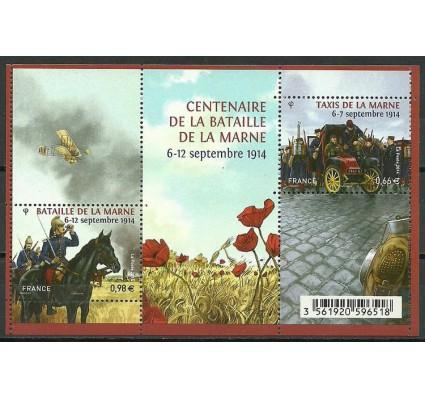 Znaczek Francja 2014 Mi bl 267 Czyste **