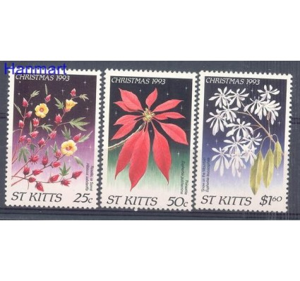 Znaczek Saint Kitts 1993 Mi 364-366 Czyste **