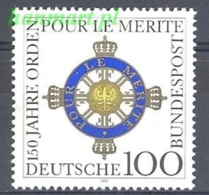 Niemcy 1992 Mi 1613 Czyste **