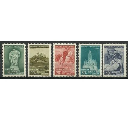 Znaczek Węgry 1939 Mi 593-597 Czyste **