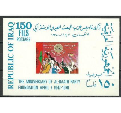 Znaczek Irak 1970 Mi bl 18 Czyste **